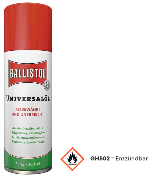 Ballistol Universal Öl Spray - 200 ml